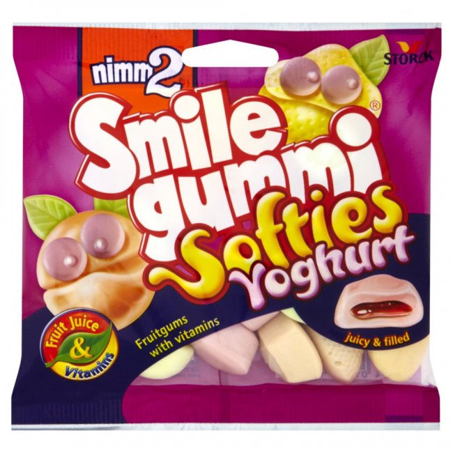 Nimm2 Smile gummi softies yoghurt 90g