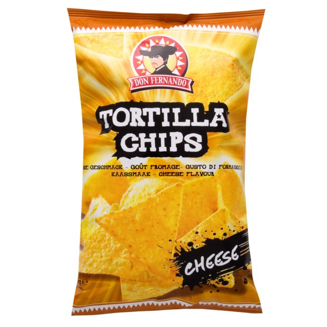 Tortilla Chips sýrové 200g