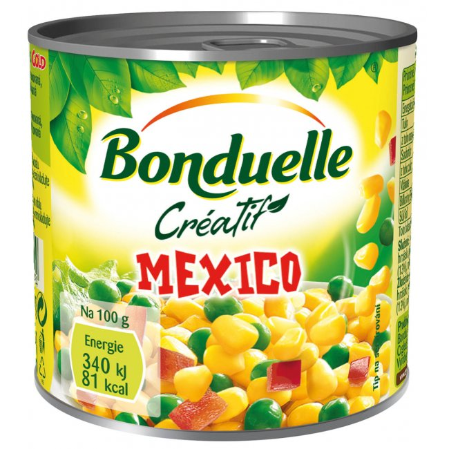 Bonduelle mexico mix gold 212ml