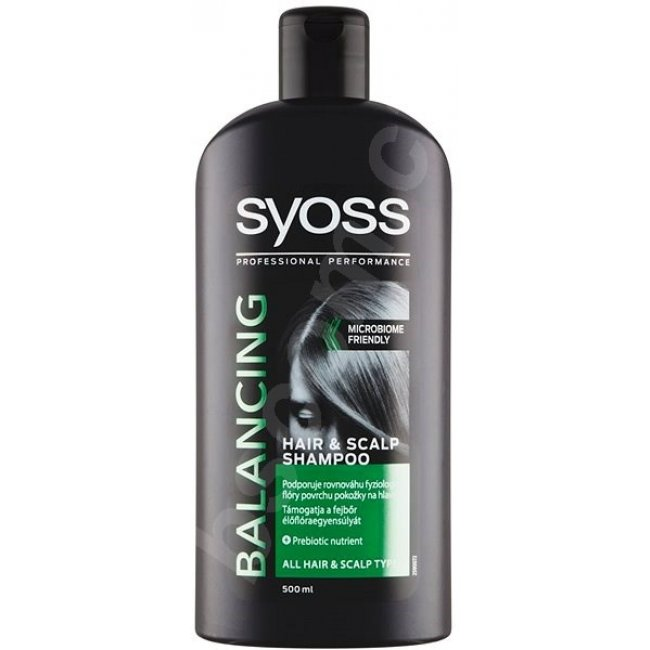 Syoss Šampón 500 ml Balancing