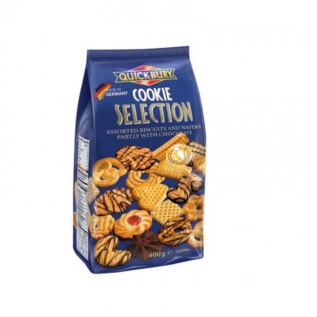 Quickbury Cookie selection 400g